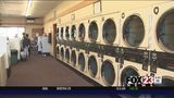 VIDEO: Local business offers free laundry cleaning for Sand Springs flood victims