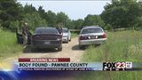 VIDEO: Investigators find body in burned Pawnee County home