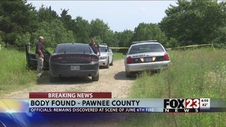 OSBI investigating body found in burned Pawnee County home