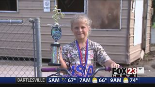 Oklahoma 7-year-old qualifies for BMX World Finals in Belgium