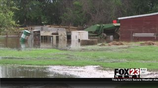 Rain brings more flooding to Muskogee community