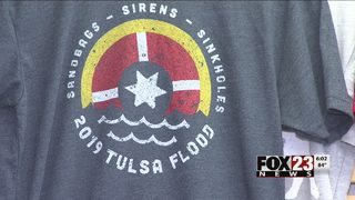 Mythic Press sells shirts to benefit River Parks flood recovery