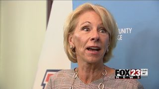 Betsy DeVos speaks at TCC