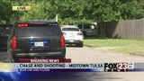 VIDEO: OHP investigating chase and shootout in east Tulsa