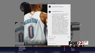 Russell Westbrook thanks Oklahoma for years of support