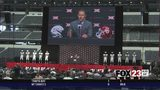 WATCH - Big 12 Media Days: OU improving defense, OSU's Gundy blames self