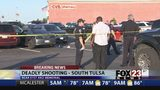 VIDEO: Police investigating three people shot in south Tulsa gym parking lot