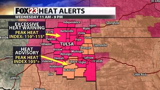 Excessive Heat Warnings and Heat Advisories issued for extreme heat