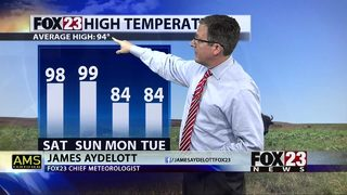 Heat and humidity stick around with some relief in sight