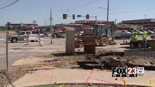 Water restored after water line break in east Tulsa Friday