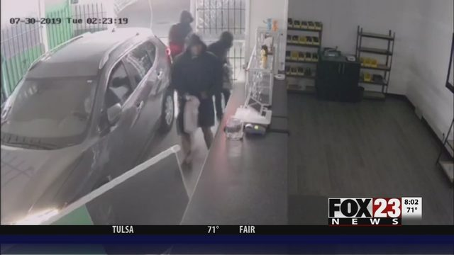 TULSA CRASH: Car crashes into cannabis dispensary | FOX23