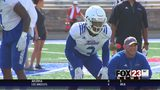 VIDEO - New life on the field | Williams returns to TU after medical scare