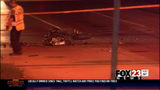 Tulsa police say a motorcyclist died after slamming into a car at 31st and Mingo early Saturday morning. Police say the driver of the car ran away from the scene.