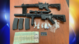 Deputies recover drugs, guns from Haskell County crash
