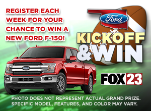 Oklahoma Ford Kickoff & Win Sweepstakes
