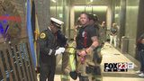 VIDEO: Local first responders climb stairs to honor 9/11 rescuers