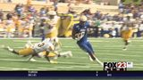 WATCH - Tulsa holds off Wyoming with late TD