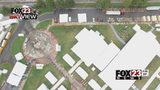 VIDEO: Oktober Fest organizers preparing for possible severe weather