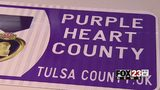 Tulsa County first in state to become Purple Heart County
