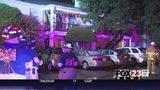 VIDEO: Lightning strike causes fire at midtown Tulsa apartment complex
