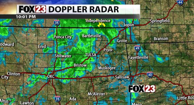Tulsa Radar Interactive Weather Map Fox23