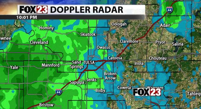 FOX23 Doppler Radar Metro